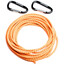 """Swimmrunners Support Pull Belt Cord DIY 5m Neon Orange"""
